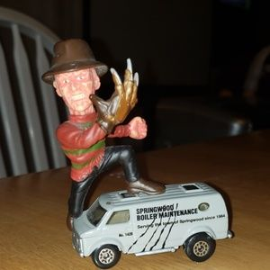 Freddy krueger match box collectable